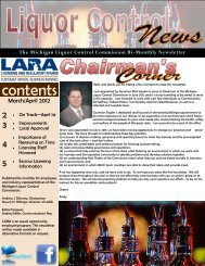 Liquor Control News - Michigan Coalition to Reduce Underage ...