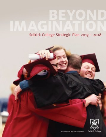 Selkirk College Strategic Plan 2013 – 2018