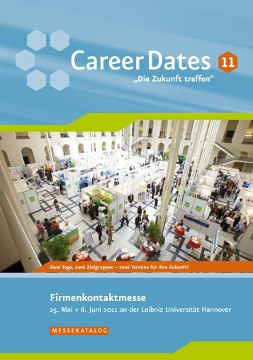 25. Mai 2011 - Career Service - Leibniz Universität Hannover