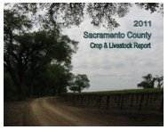 2011 Report - Agricultural Commissioner - Sacramento County