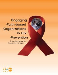 Engaging Faith-based Organizations in HIV Prevention - UNFPA