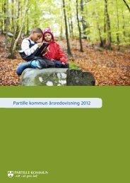 Årsredovisning 2012 - Partille kommun