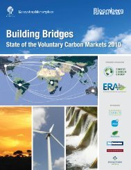 State of the Voluntary Carbon Markets