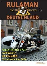Newsletter 01 / 2006 - Rulaman Deutschland e.V.