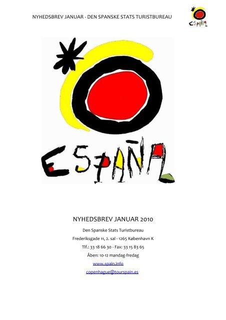 NYHEDSBREV JANUAR 2010 - Spain