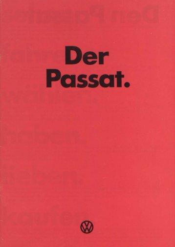 Page 1 Page 2 Den Passat sehen. Er hat ein modernes ...