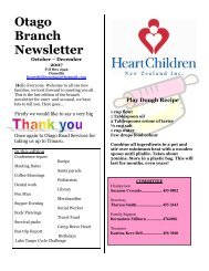 Otago Branch Newsletter