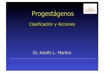 Progestágenos - IGBA