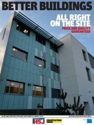 ProCure21: Better buildings supplement - Health Service Journal