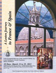 A Lenten Journey to France & Spain - Central Washington Catholic ...