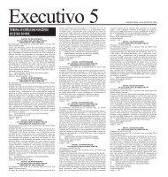 Executivo 5 SEGUNDA-FEIRA, 30 DE AGOSTO DE 2010 - Imprensa ...