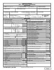 DD 2493-1, Asbestos Exposure Part I - Initial Medical Questionnaire