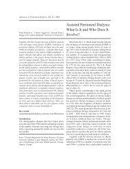 Assisted Peritoneal Dialysis: What Is It and Who Does It Involve?