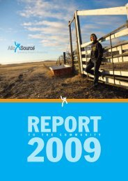 2009 Annual Report to the Community - AlloSource