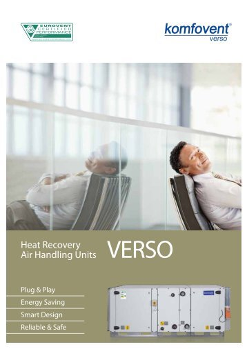 Heat Recovery Air Handling Units - komfovent