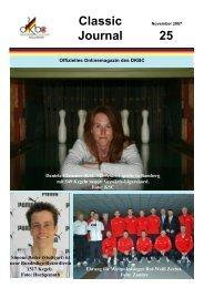 Classic November 2007 Journal 25 - DKBC