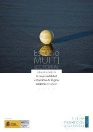 Estudio multisectorial sobre el estado de la RSC ... - Fundación Étnor