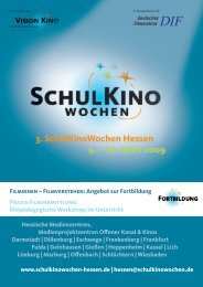 Filmpädagogische Seminare - Medienzentrum Frankenberg