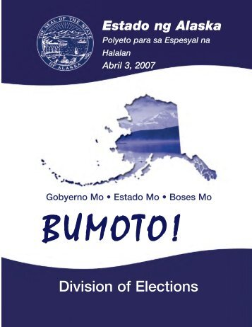 Alaska Elections State Division of Elections