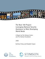 The Next 100 Project: Leveraging National Security Assistance to ...