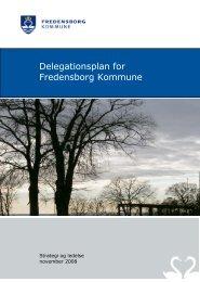 Delegationsplanen - Fredensborg Kommune
