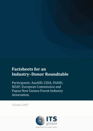 Development and Delivery of an Industry - Donor ... - ITS Global