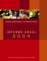 Informe Anual del FMI 2004 -- archivo 1 de 5 - eFaber