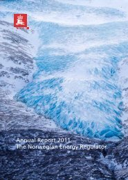 Annual Report 2011 The Norwegian Energy Regulator