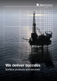 We deliver success - Aker Solutions