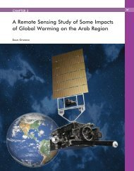 A Remote Sensing Study of Some Impacts of Global Warming on the ...