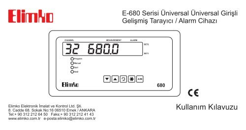 E 680 Kullana M Ka Lavuzu Elimko