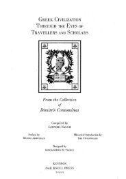 Greek civilization through the eyes of travellers and scholars: from ...