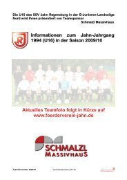 U16-Landesliga - Foerderverein-jahn.de
