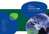 THE ENERGY STRATEGY 2050