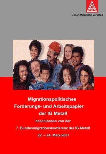 Migrationspolitisches Forderungs - Ludwigshafen - Frankenthal