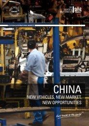 China - New Vehicles, New Markets 2010 - Libralato Engines