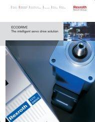 ECODRIVE The intelligent servo drive solution - Bosch Rexroth
