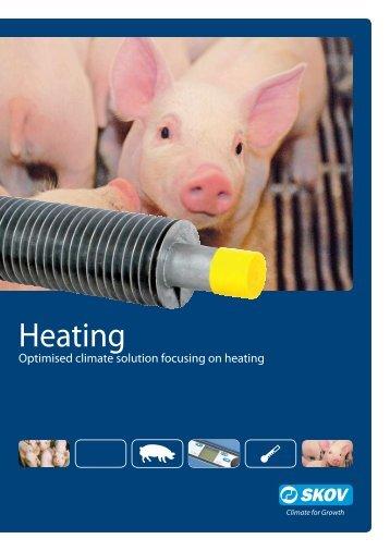 Heating pigs - Skov