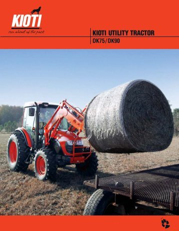 kioti utility tractor - Joe Signs Power Equipment and Boat Center