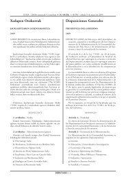 4/2009 Dekretua - Euskadi.net