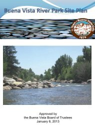2013 River Park Master Plan - Town of Buena Vista