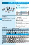 ELECTROMAGNETIC CLUTCHES & BRAKES - Miki Pulley - Page 4