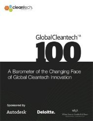 The Global Cleantech 100 Alumni - Cleantech Group