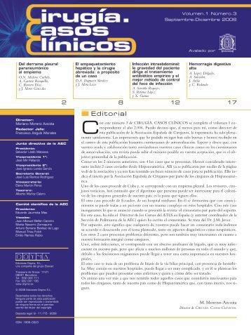 Cirugía Casos Clínicos. Volumen 1. Número 3