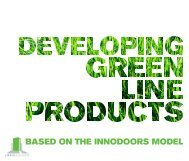 Developing Green Line Products - VBN - Aalborg Universitet