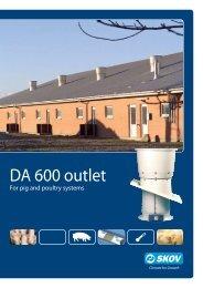 DA 600 outlet - SKOV A/S - Home