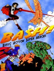 Free Demo - Basic Action Super Heroes