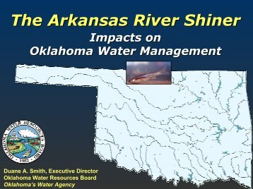 The Arkansas River Shiner - Water Resources Board