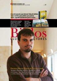 Premio Biblos-Pazos de Galicia 2006