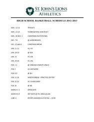 HIGH SCHOOL BASKETBALL SCHEDULE 2012-2013